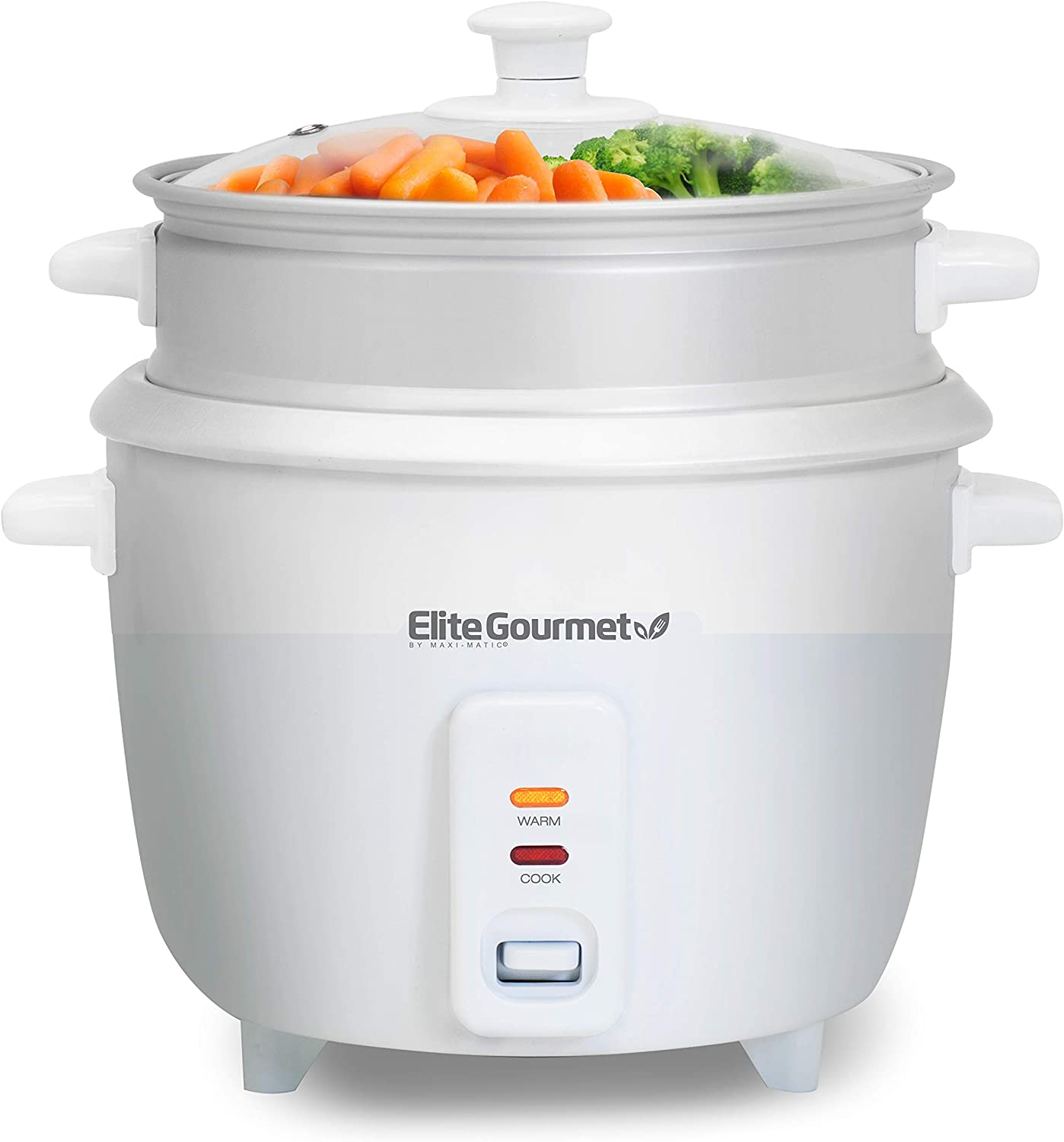 Maxi-Matic Rice Cooker, 16 Cup, White