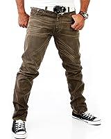 VSCT Herren Jeans Hose V-5700053 Braun