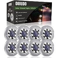 8-Pack Duudo LED Solar Lights
