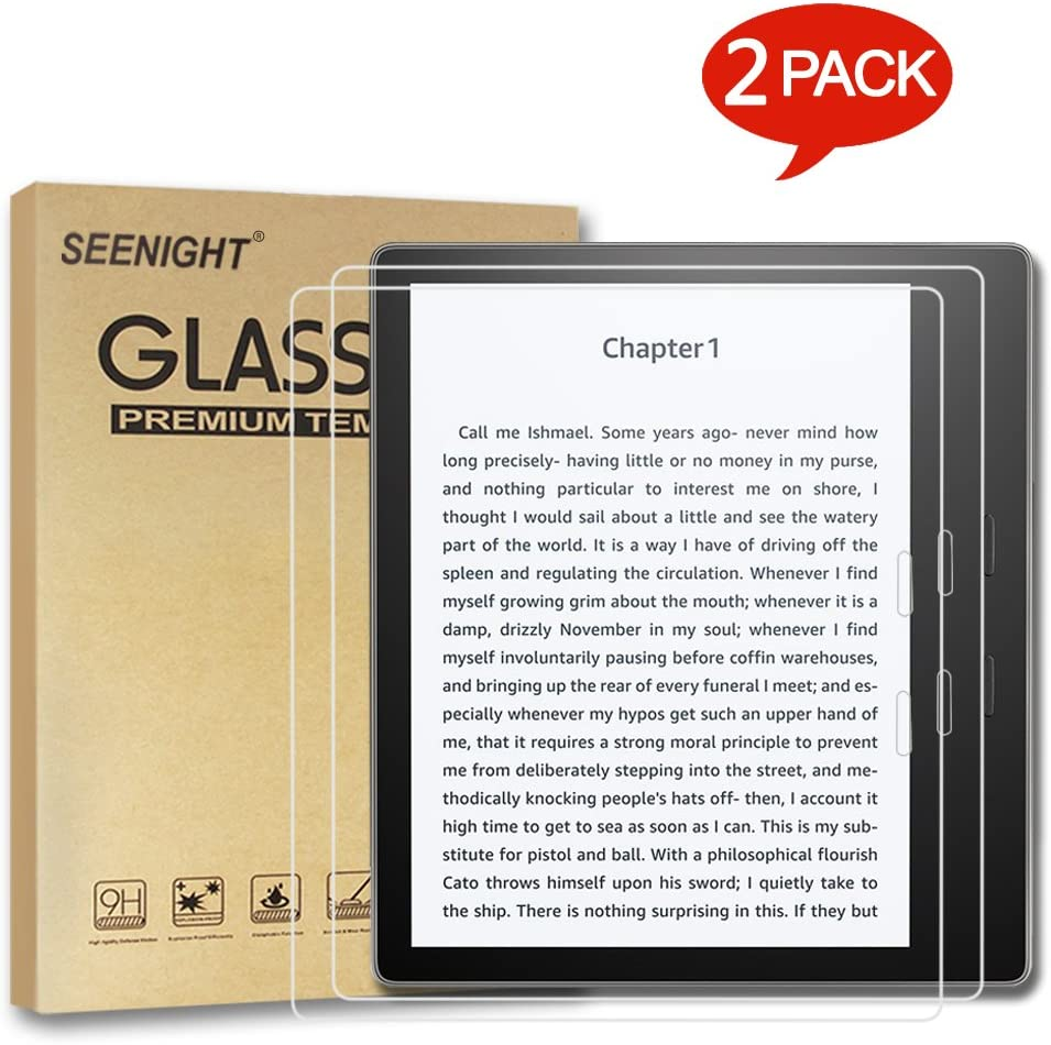 "9H Tempered Glass Film Screen Protector For E-reader Amazon 7/"" Kindle Oasis 2017"