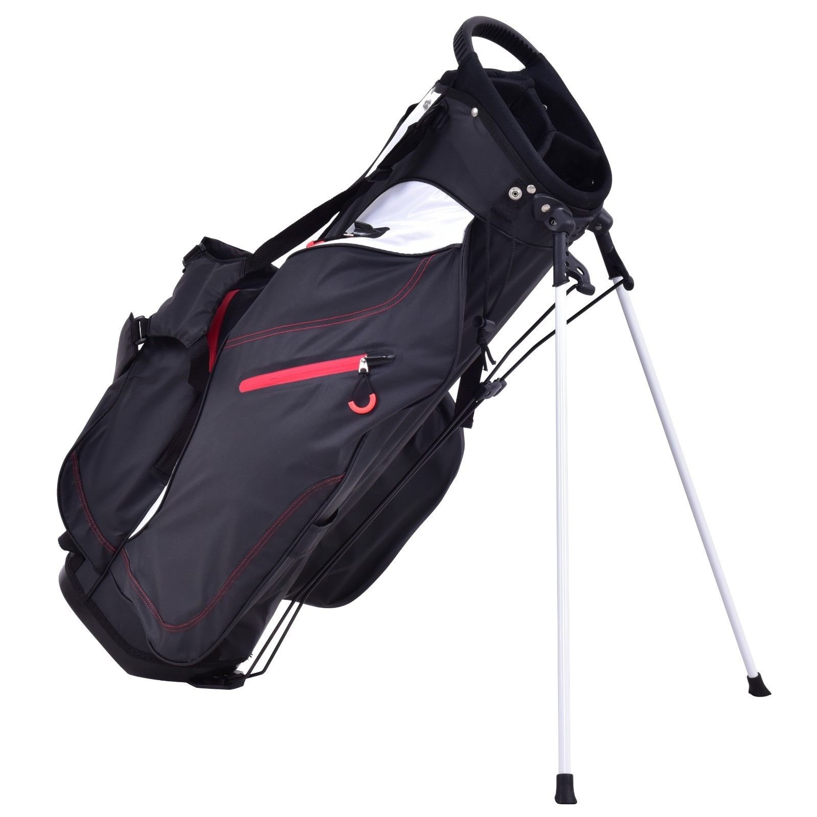 New 8.5'' Golf Stand Cart Bag Club 5 Way Divider Carry Organizer Pockets Storage by MTN Gearsmith