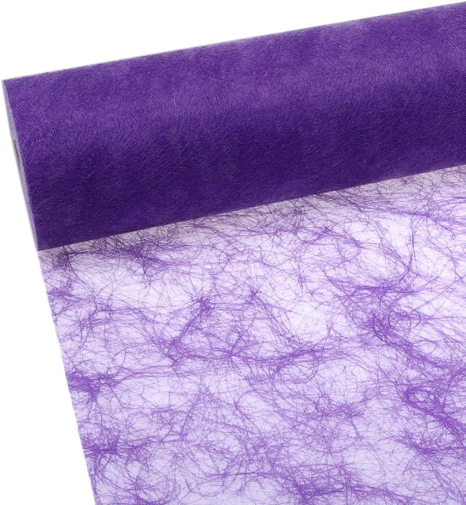 Sizoflor camino de mesa - lila - 20 cm papel 25 Meter - 60-200-25 ...