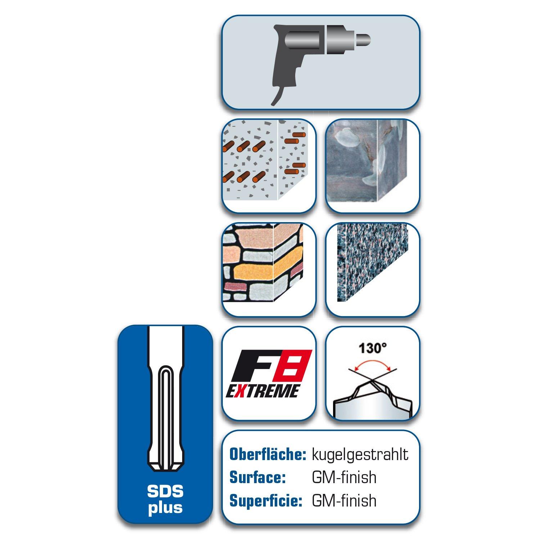 alpen 81601200100 SDS-plus HammerbohrerF8 160//100x12mm