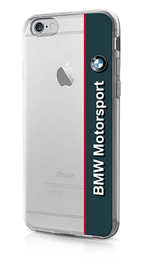BMW Motorsport – Carcasa de TPU para Apple iPhone 6/6s, Horizontal de Logo