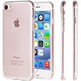 """iPhone 7 CASE - iTieTie [Ultra Thin] Transparent Silicon TPU Cover for iPhone 7 4.7"""""""