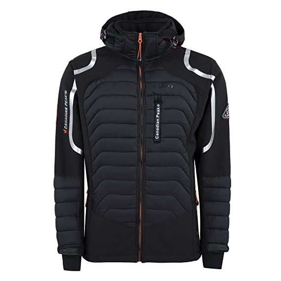 online for sale top quality huge discount Canadian Peak - Softshell Homme Tenox Noir-Taille - M ...