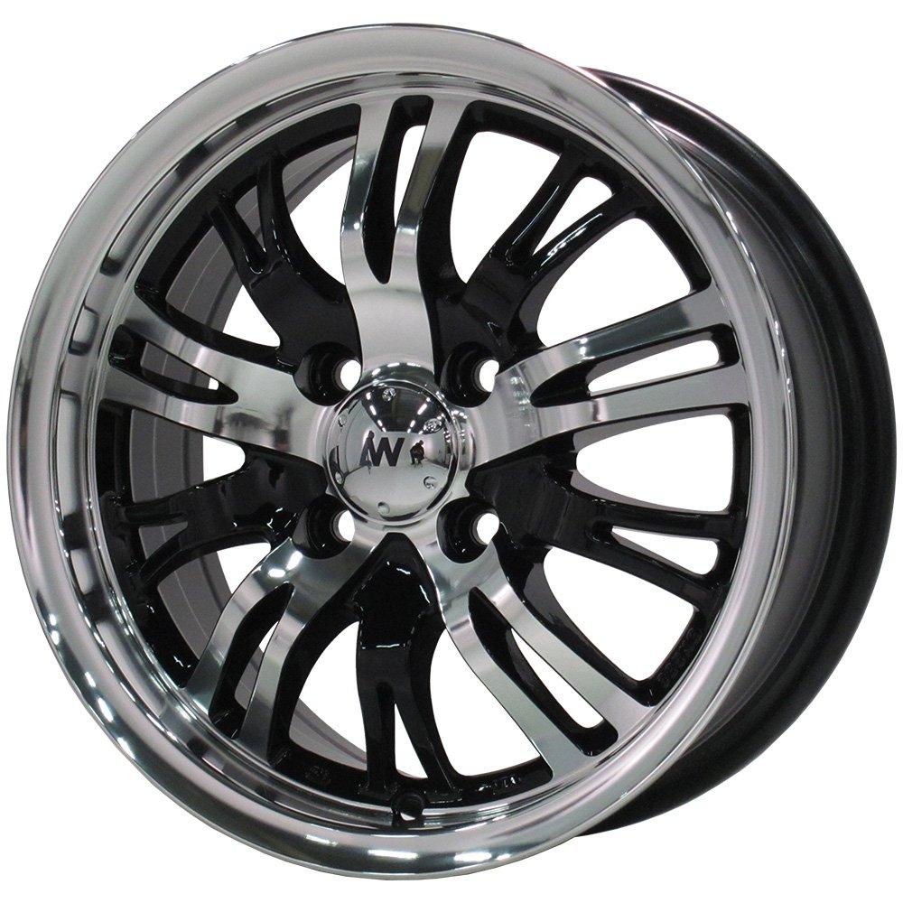 ZEETEX(ジーテックス) サマータイヤ&ホイール ZT1000 195/65R15 AW(エイブルホイール) 15インチ 4本セット B01MRZL38Y