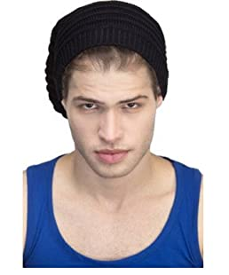Huntsman Era Black Beanie Skull Cap for Men/Winter Cap/Wool Cap (color1)