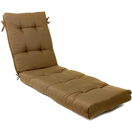 Beau Ultimatepatio.com Extra Long Replacement Outdoor Chaise Lounge Cushion    Canvas Cocoa