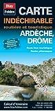 Ardèche, Drôme. Carte routière et touristique