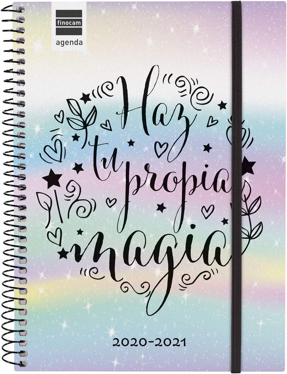 Finocam - Agenda Curso 2020-2021 Cuarto-155x212 Semana Vista Apaisada Secundaria Magia Español