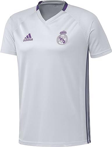 adidas Real Madrid CF TRG JSY - Camiseta Hombre: Amazon.es: Ropa y accesorios