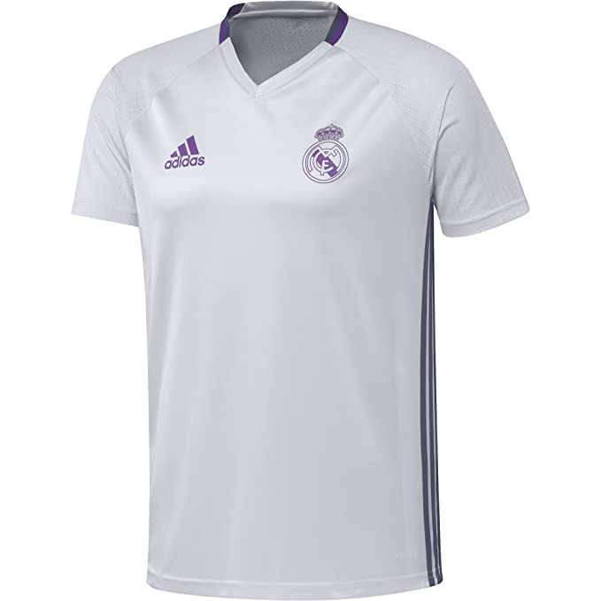 adidas Real Madrid CF TRG JSY Camiseta, Hombre: Amazon.es: Ropa y ...