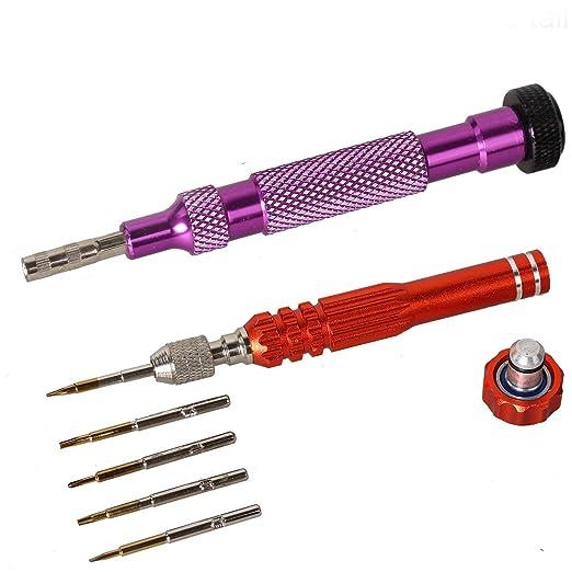 eJiasu Mini Destornillador Hexagonal Pentalobe precisión para ...