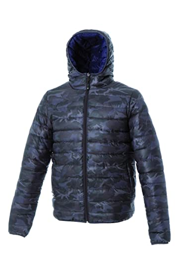 Orocolato Fashion - Chaqueta Impermeable - Abrigo de Plumas - Manga Larga - para Hombre: Amazon.es: Ropa y accesorios