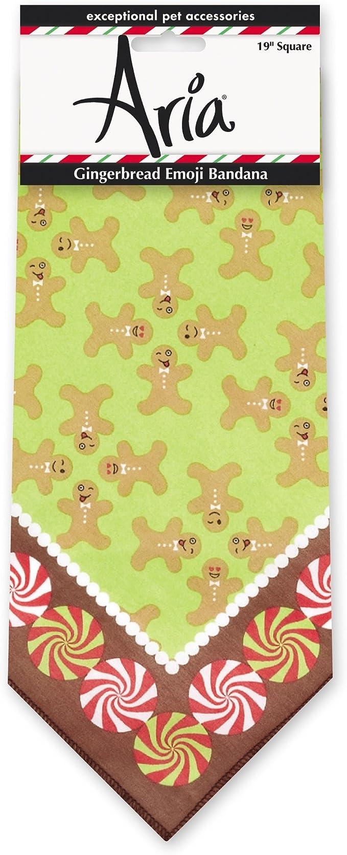 Medium Gingerbread Men Dog Bandana