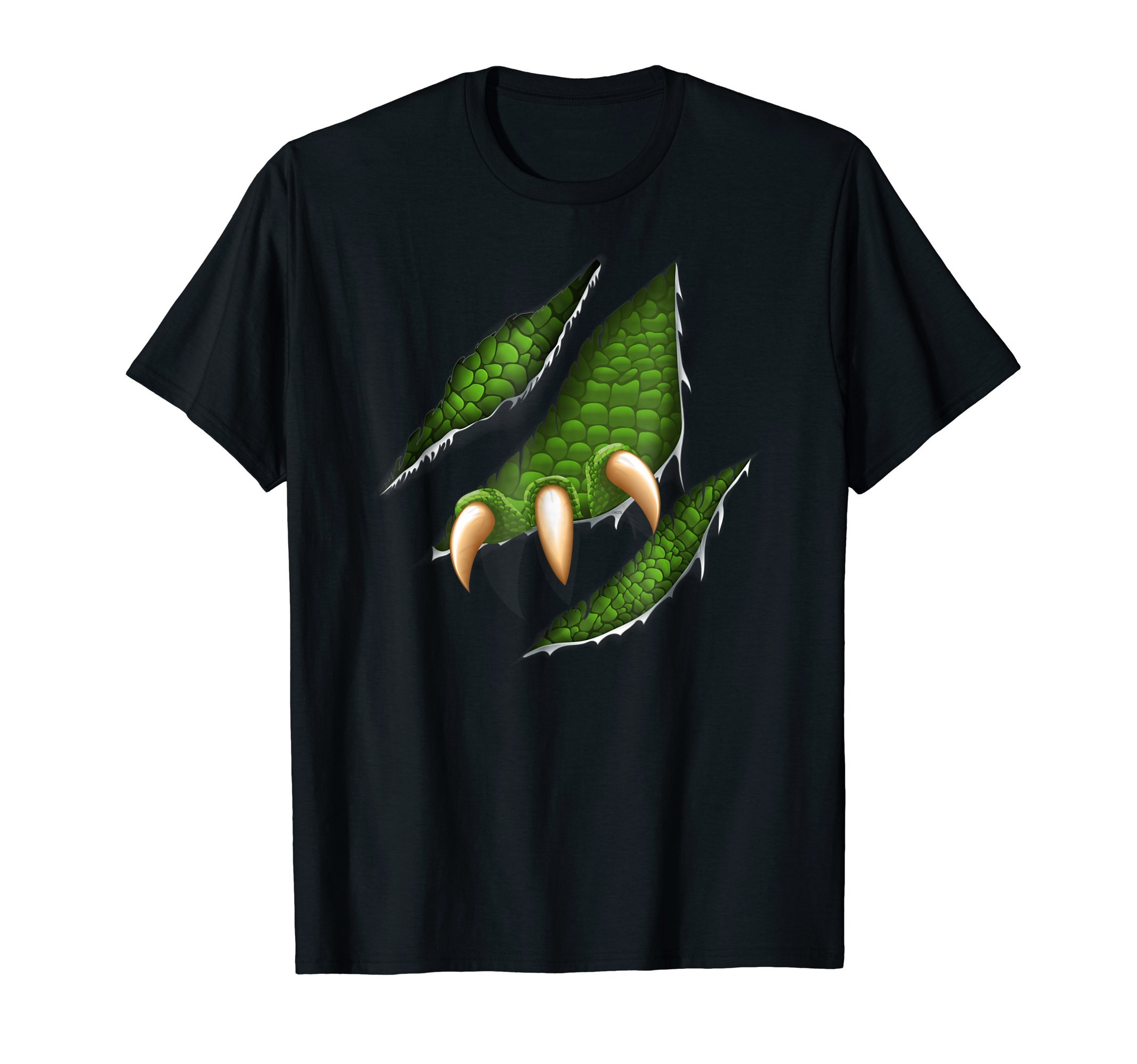 Men-Alien-Reptile-Ragged-Halloween-costume-T-Shirt-Tee-Gift