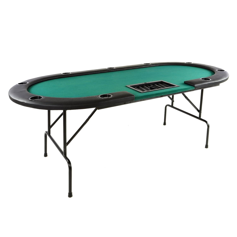 Pokertisch Klappbar Black Jack Fur 10 Spieler