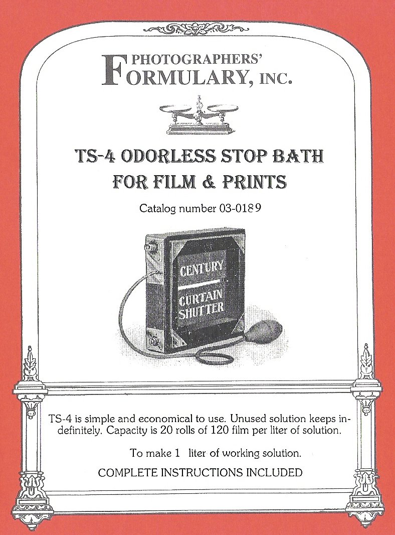 写真家' Formulary 03 – 0189 ts-4 odor-free停止Bath – 1リットル   B0010C842S