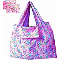 Kerr's Choice Lightweight Portable Grocery Bag Large Capacity Shopping Bag Durable Reusable Tote Bag Travel Accessories…