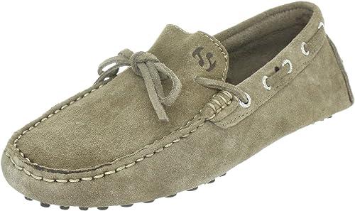 Superga 487 Suem, Mens Loafer Flats