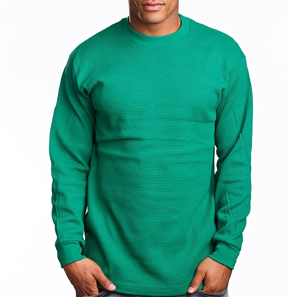 PRO 5 Mens Casual Long Sleeve Thermal
