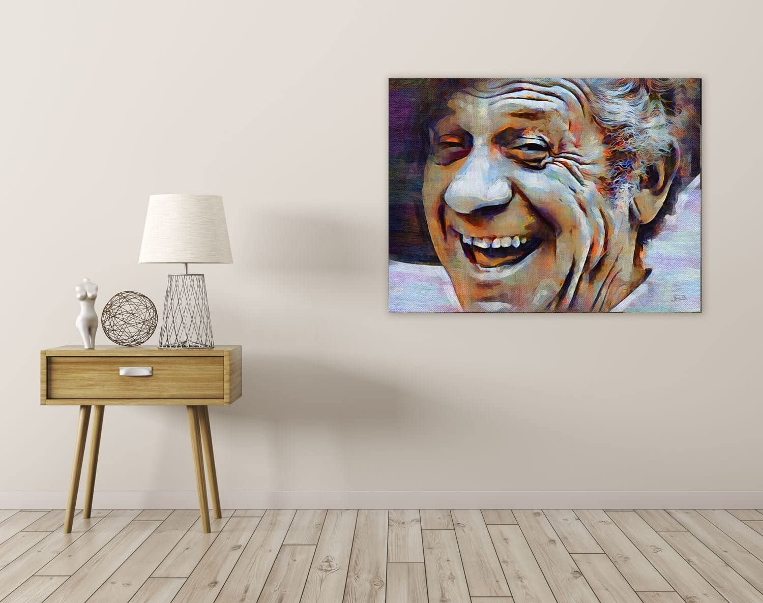 SID JAMES ENGLISH COMEDIAN CARRY ON FILM ART PRINT POSTER OIL PAINTING LLFF0182
