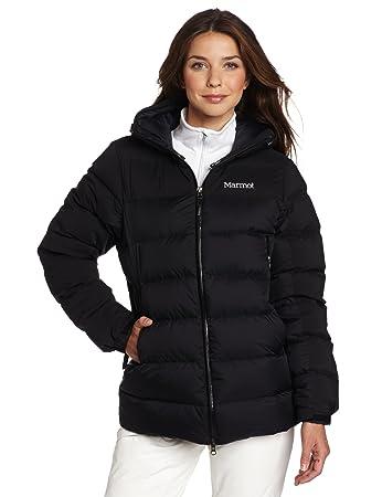 super popular e57ce 78d1b Marmot, Piumino Donna Mountain, Nero (Black), XS: Amazon.it ...