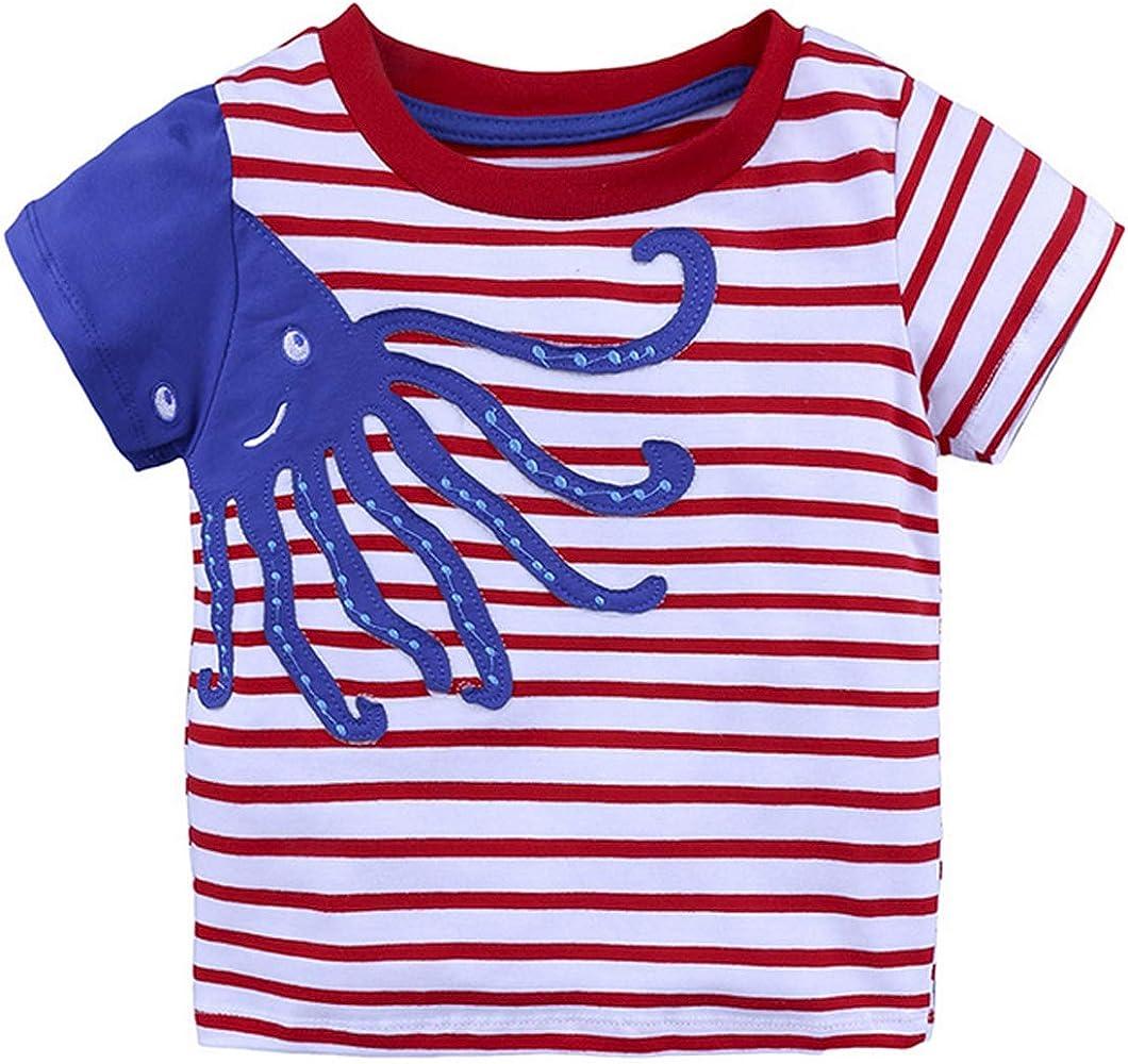 1-6Y Moda Casual Verano para Niños Pequeños Bebé Algodón Estilo ...