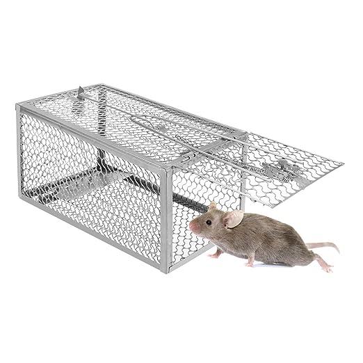 Kimimara Ratoneras Trampa, Jaula para Atrapar Ratones, Ratas ...