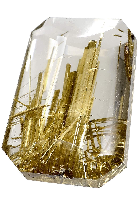 新宿銀の蔵 最高級 金針ルチルクォーツ 磨き原石 7.8g 天然石 パワーストーン ルチルクォーツ ゴールデンルチル ルチル 原石 水晶 金運  Z-RCC-11 B07KM2KZ79