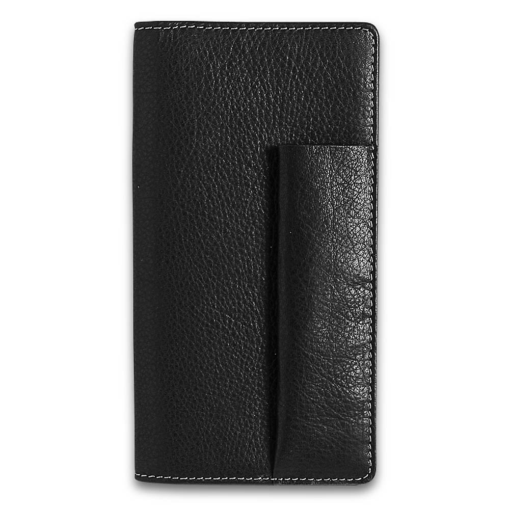 Levenger Pennington Full-Grain Leather Checkbook Cover
