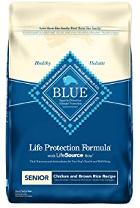 Blue Buffalo Life Protection Formula Natural Dry Food for Senior Dogs