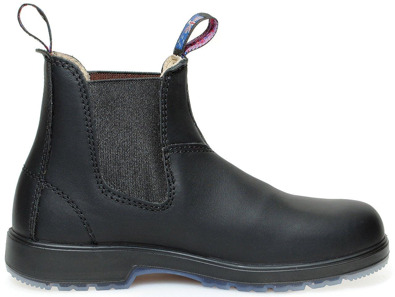 Blue Heeler - Australian Style Chelsea Boots / black schmale --narrow fit-- auch für schmale black Füße 38 dfeeec