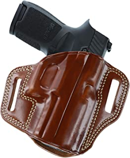 "product image for Galco Combat Master Belt Holster, Colt 1911 5"" Tan, Left Hand - CM213"