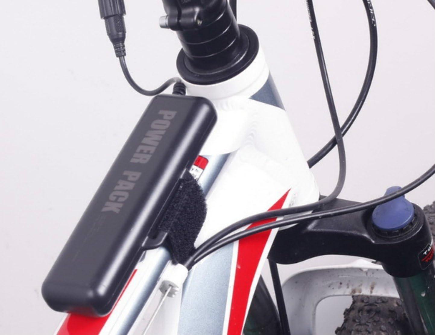 Batería de repuesto para luces de bicicleta, 10400 mAh ...