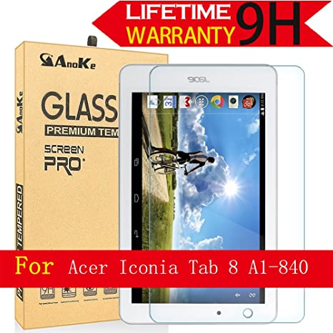 """Tempered Glass Screen Protector For Acer Iconia Tab 8 A1-840 8/"""" Tablet"""