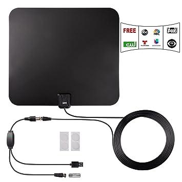 Antena de TV, Kiirie de Interior y amplificada de HDTV ...