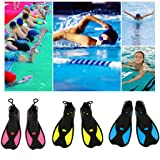 DHmart Full Foot Short Fins Scuba Diving Swim
