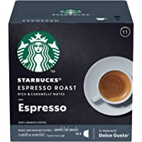 STARBUCKS Espresso Roast by NESCAFÉ Dolce Gusto – Dark Roast (12 Capsules)
