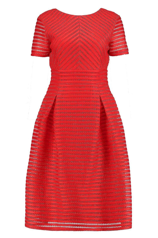 Amazon.com: Boohoo Womens Boutique Zaira Full Skirted Prom Midi Dress: Clothing