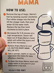angry mama microwave instructions
