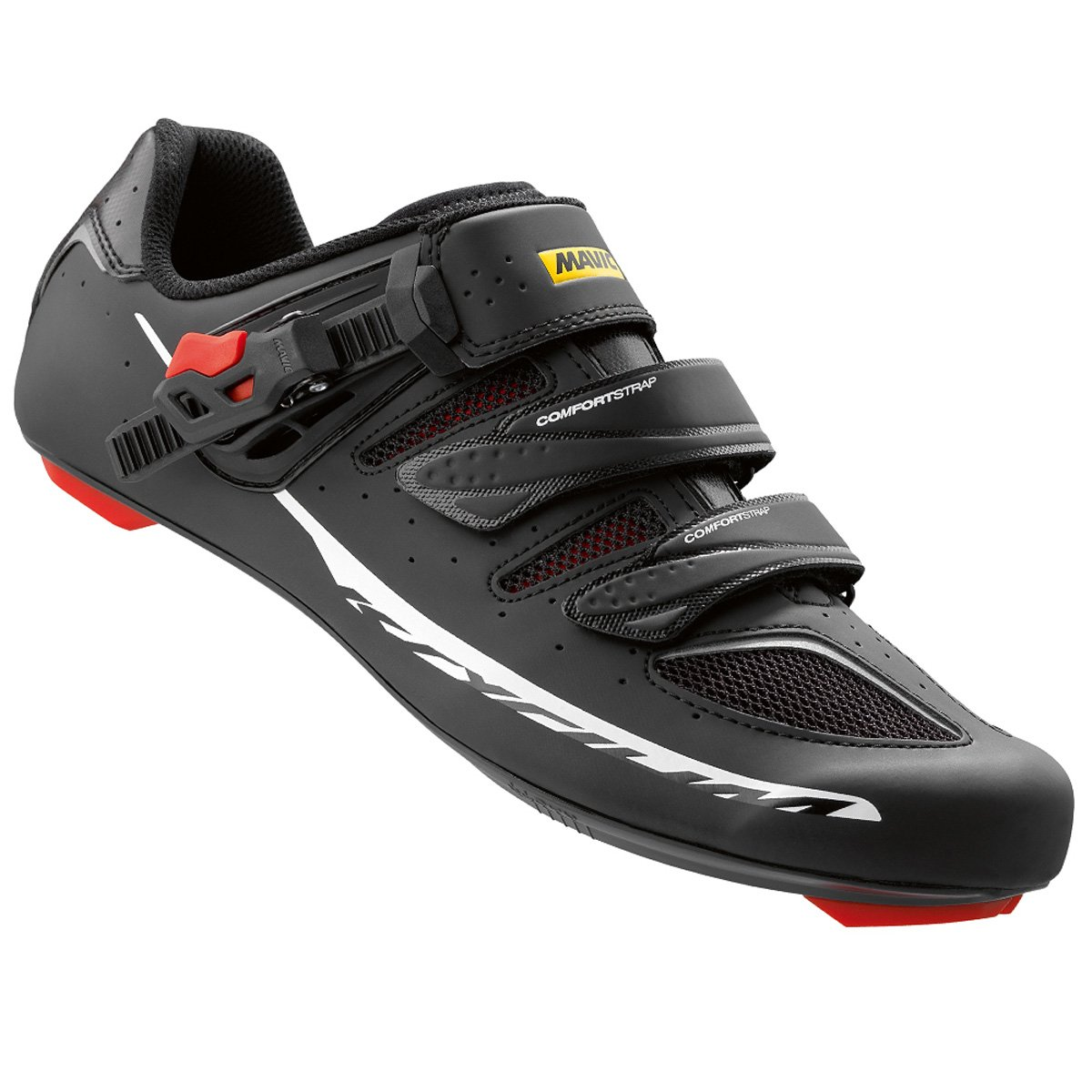 Mavic メンズ B0153RFE6O US 8.0/UK 7.5|Black/Racing Red Black/Racing Red US 8.0/UK 7.5
