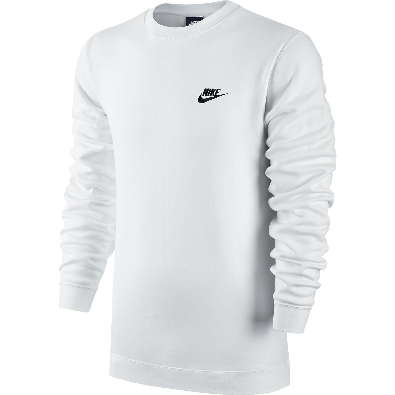Nike Herren M NSW Club CRW Bb 804340 Long Sleeved T Shirt