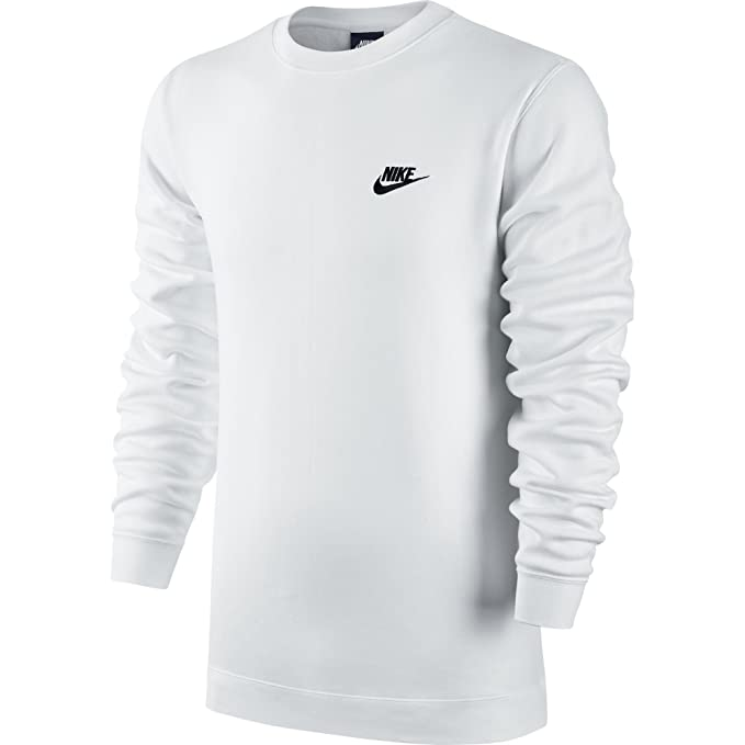 Nike Herren M NSW Club CRW Bb 804340 Long Sleeved T Shirt
