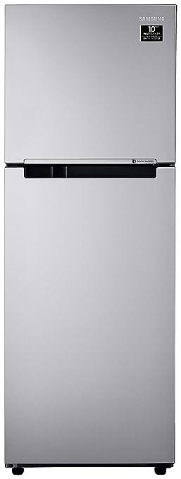 Samsung 253 L 2 Star Inverter Frost Free Double Door Refrigerator  RT28T3022SE/HL, Electric Silver  Refrigerators