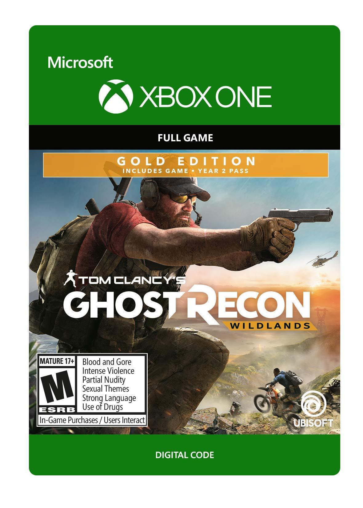 Tom Clancy's Ghost Recon Wildlands: Gold Year 2 - Xbox One [Digital Code]