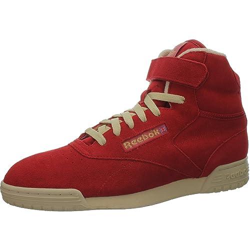 6f8fa890a36e8 Reebok - Zapatillas para Hombre Rojo Rojo EUR 44.5 UK 10 CM 29  Amazon.es   Zapatos y complementos