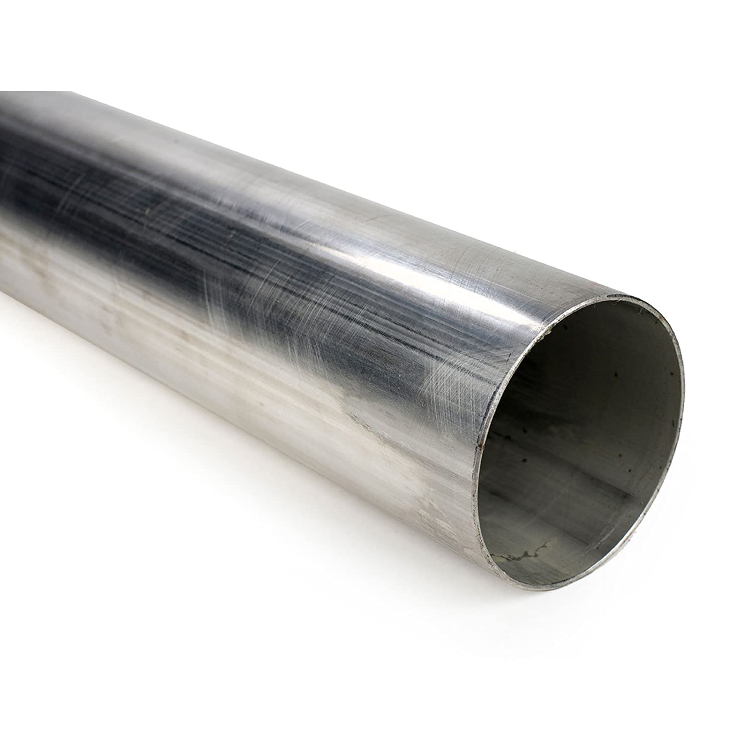 Squirrelly 2' 304 Stainless Steel Straight Pipe Tubing 16 Gauge Exhaust 1 FOOT Squirrelly Performance Parts