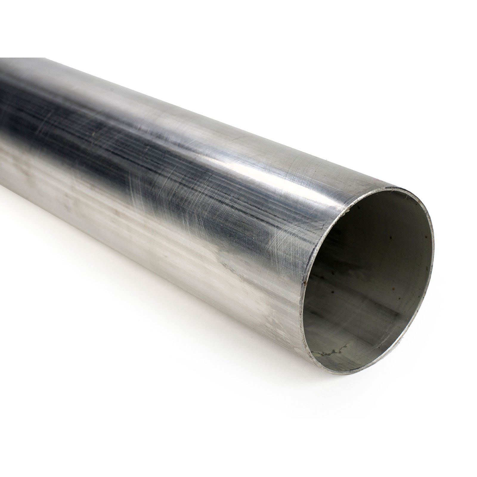 Squirrelly 2'' 304 Stainless Steel Straight Pipe Tubing 16 Gauge Exhaust 1 FOOT